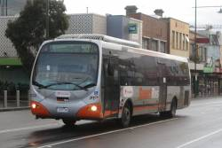 Transdev #632 7255AO arrives at Box Hill station with a route 903 service