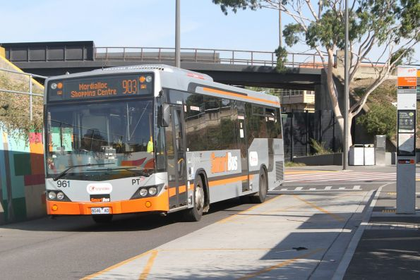 Transdev #691 8046AO on a route 903 service at Sunshine station