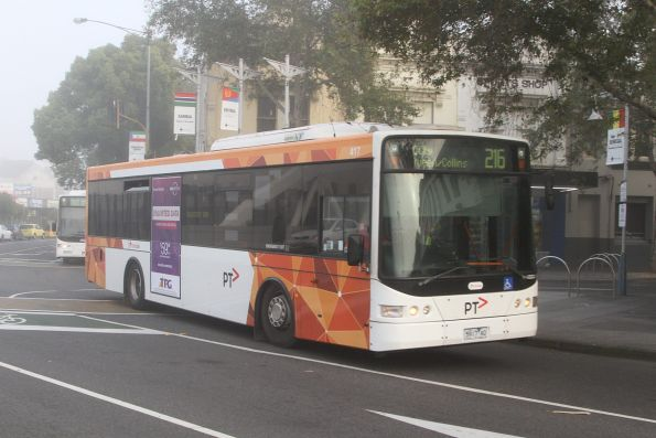 Transdev bus #417 5914AO on a route 216 service in Footscray