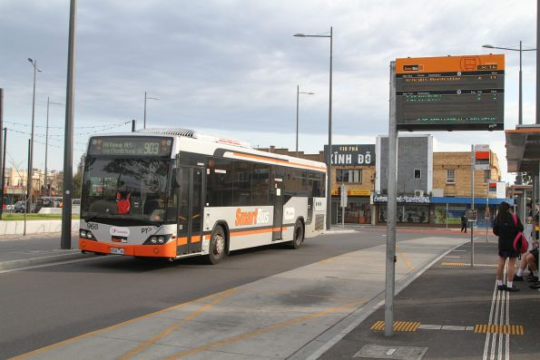 Transdev bus #968 8042AO on a route 903 service at Sunshine station
