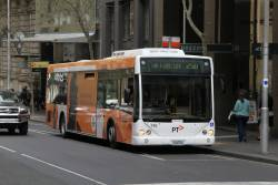 Transdev bus #745 1745AO on route 250 at Queen and Collins Street