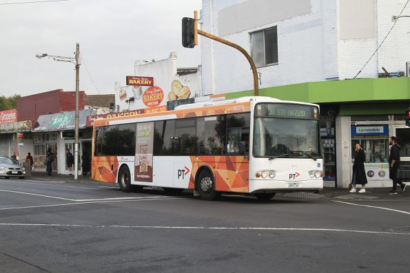 Transdev bus #379 4083AO on route 220 at Footscray station