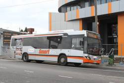 Transdev bus #945 7856AO on route 903 at Coburg station