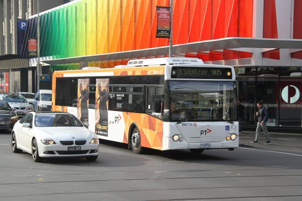 Transdev bus #735 1735AO westbound on route 905 at Elizabeth and Lonsdale Street