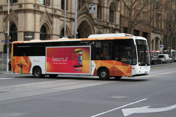 Transdev bus #530 5826AO on route 234 at Queen and Collins Street