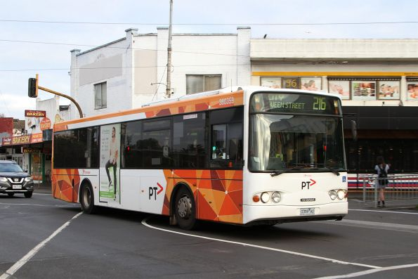 Transdev bus #359 0359AO on route 216 at Footscray station