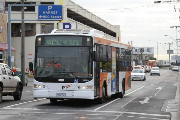 Transdev bus 5902AO on route 223 at Footscray station