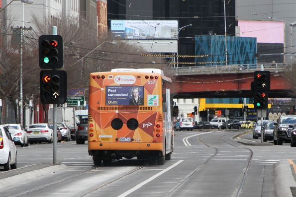 Transdev bus #557 5941AO on route 234 at Queensbridge and Power Street