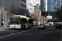 Transdev bus #416 5916AO on route 216 at Queensbridge and Power Street