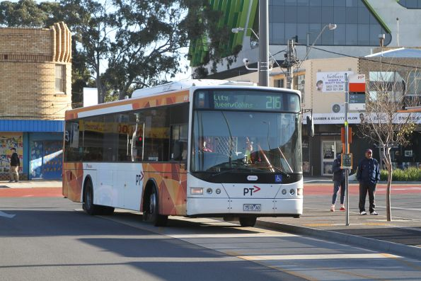 Transdev bus #418 7518AO on route 216 at Sunshine station
