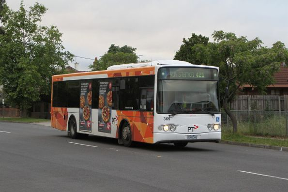 Transdev bus #365 0365AO on route 426 on Durham Road, Sunshine