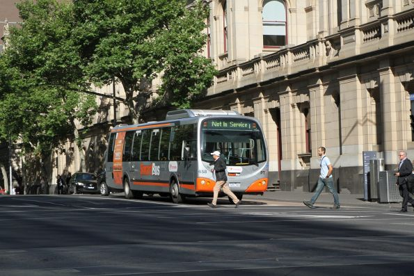 Transdev bus #958 7281AO out of service at Lonsdale and William Street