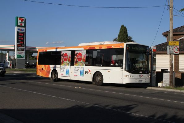 Transdev bus #419 7519AO out of service on Hampshire Road, Sunshine