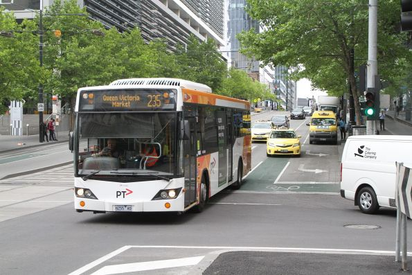 Transdev bus #976 8255AO on route 235 at Collins and Spencer Street