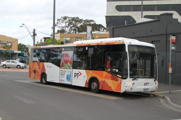 Transdev bus #501 4988AO on route 426 at Sunshine station