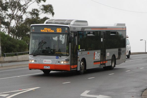 Transdev bus #8264 6696AO on route 903 along Hampshire Road, Sunshine