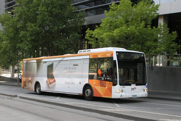 Transdev bus #746 1746AO on route 237 at Southern Cross Station