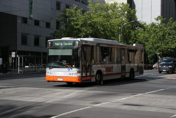 Transdev bus #8904 6704AO out of service at Lonsdale and William Street
