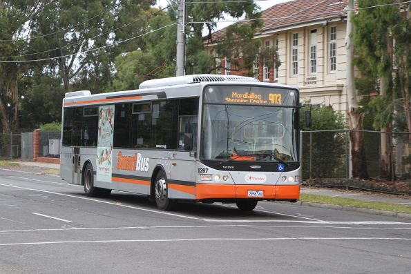 Transdev bus #8397 7956AO on route 903 along Hampshire Road, Sunshine