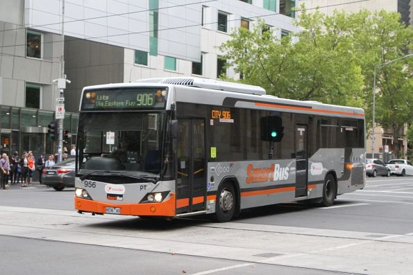 Transdev bus #956 8036AO on route 906 at Lonsdale and William Street