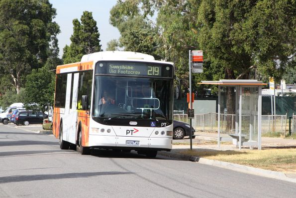 Transdev bus #436 9036AO on route 219 in Sunshine South