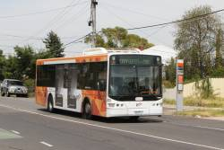 Transdev bus #400 5900AO on route 219 along Hampshire Road, Sunshine