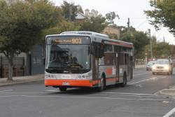 Transdev bus #8624 8068AO on route 903 along Hampshire Road, Sunshine