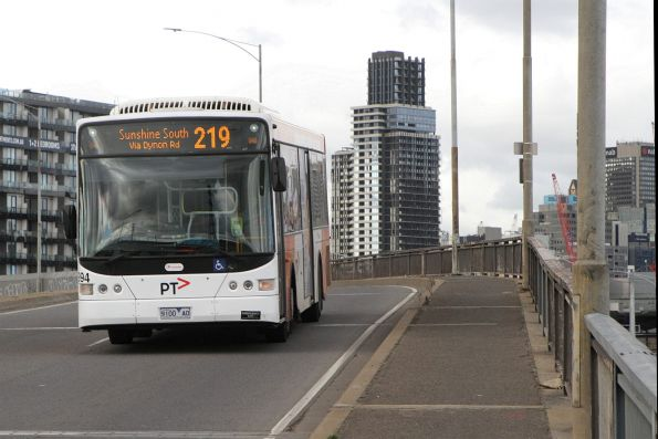 Transdev bus #994 9100AO on route 219 on Dynon Road