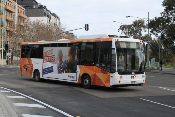 Transdev bus #541 5837AO on route 246 at St Kilda Junction