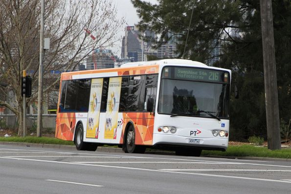 Transdev bus #379 4083AO on route 216 on Dynon Road