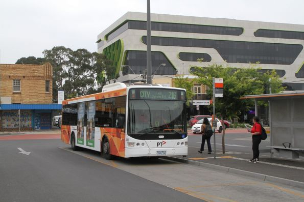 Transdev bus #401 5901AO on route 216 at Sunshine station
