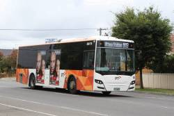 Transdev bus #178 BS03WT heads south on route 903 along Hampshire Road, Sunshine