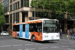 Transdev bus #369 0369AO heads east on route 216 at Lonsdale and William Street