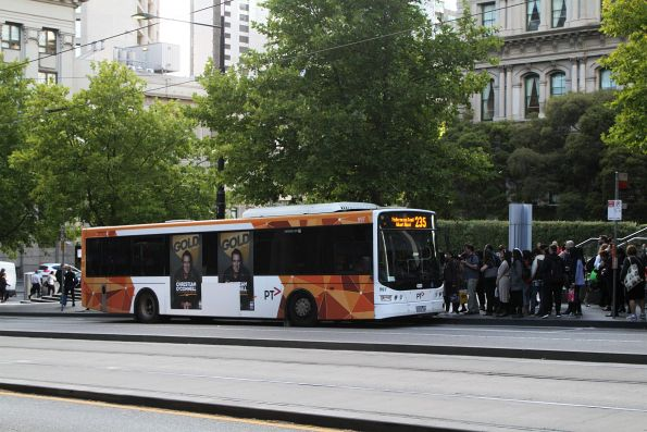Transdev bus #997 9103AO on route 235 at Southern Cross Station