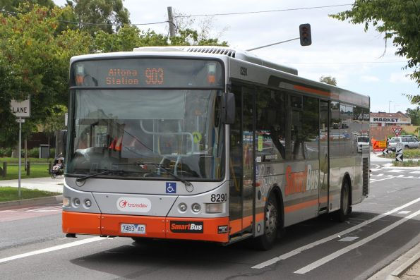 Transdev bus #8290 7483AO on route 903 along Hampshire Road, Sunshine