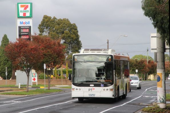 Transdev #398 5298AO on route 429 along Hampshire Road, Sunshine