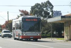 Transdev bus #8004 7717AO on route 903 along Hampshire Road, Sunshine