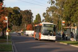 Transdev bus #418 7518AO on route 429 in Sunshine South