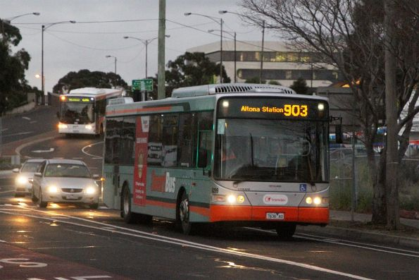 Transdev bus #8299 7636AO on route 903 along Hampshire Road, Sunshine