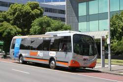Transdev bus #637 7260AO on route 907 at Victoria Parade and Nicholson Street