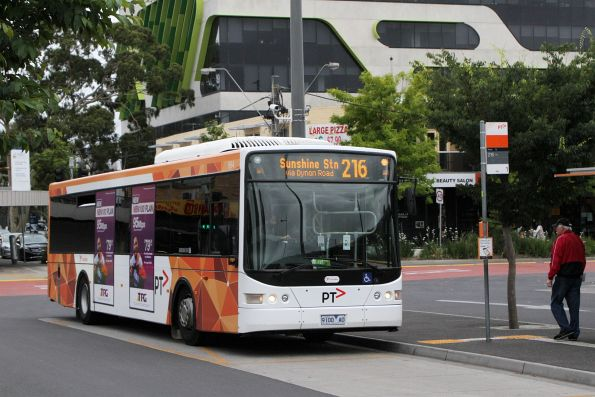 Transdev bus #994 9100AO on route 216 at Sunshine station