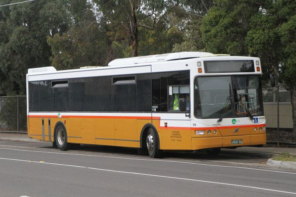 Transit Systems bus #128 BS00BQ between runs in Sunshine