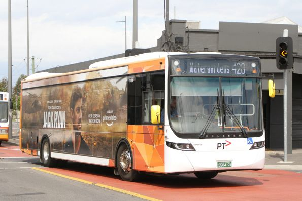 Transit Systems bus #155 5355AO arrives at Sunshine station on route 428