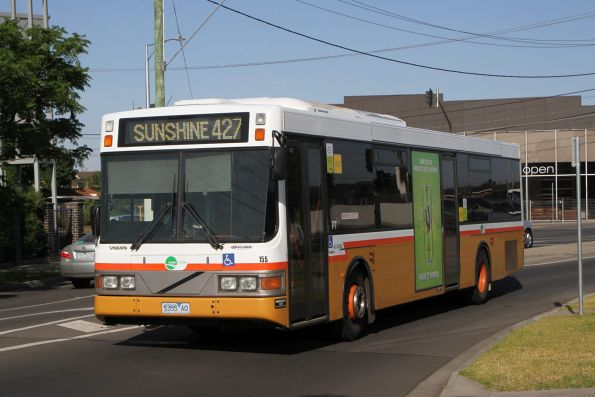 Transit Systems bus #155 5355AO on a route 427 service along Sun Crescent, Sunshine