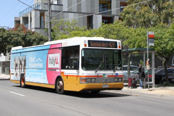 Transit Systems bus #49 6026AO on route 427 along Durham Road, Sunshine