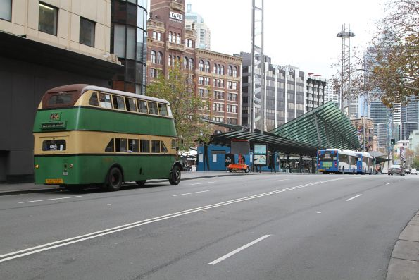 Double deck Leyland Titan OPD2/1 #2087 running shuttles at Railway Square