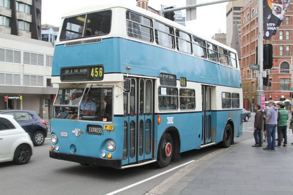 Double deck Leyland Atlantean PDR1A/1 #1224 running shuttles at Railway Square