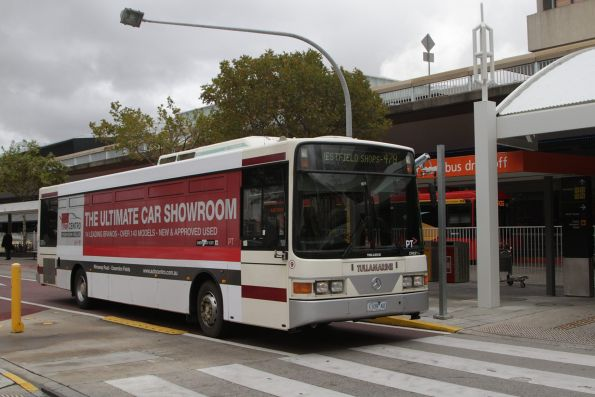 Tullamarine Bus Lines #9 rego 1109AO at Melbourne Airport with a route 479 service