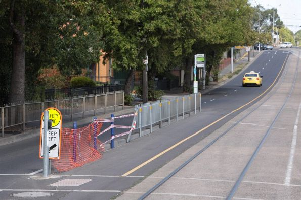 Unsafe 'safety' zone in Ascot Vale