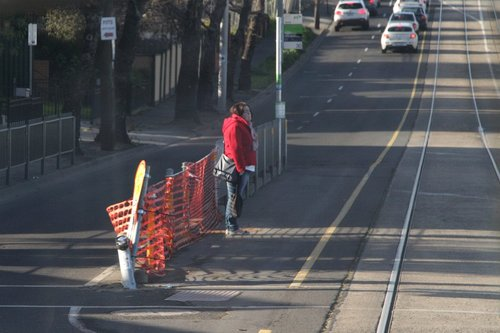 Another week, another driver has ploughed through the safety zone fence